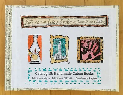 Catalog 15: Cuban Artist's Books