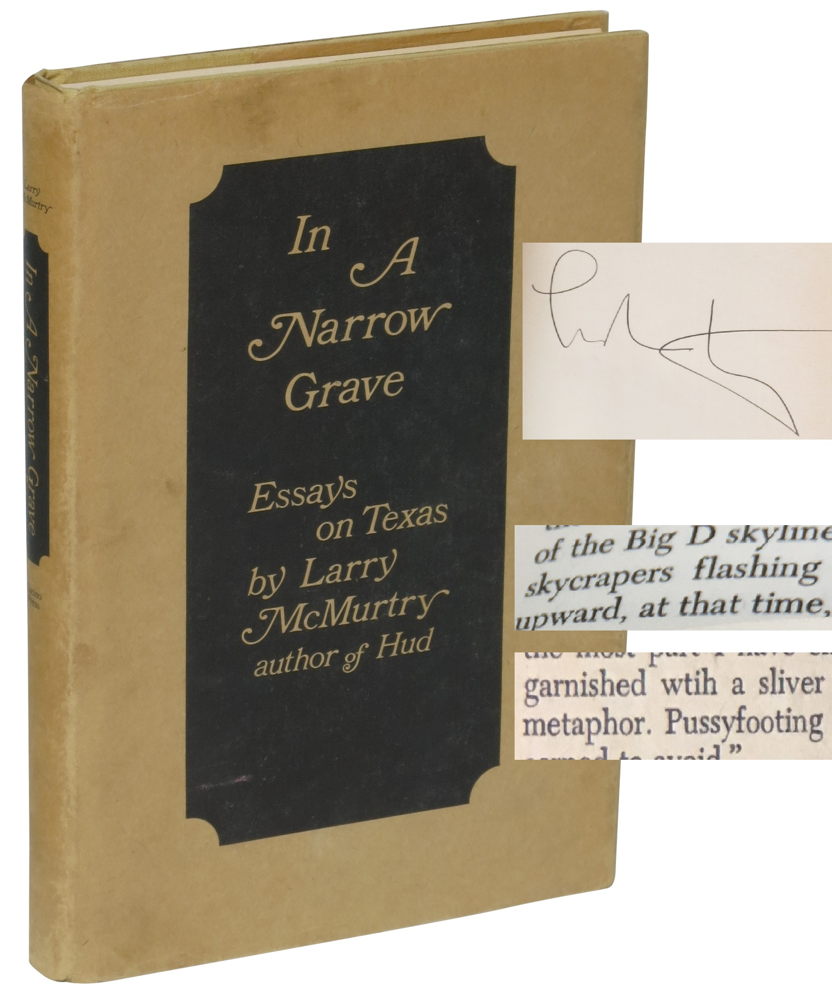 In a Narrow Grave by Larry McMurtry - First Edition Identification