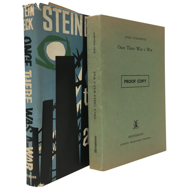 Once There Was a War [UK Proof]. John Steinbeck.