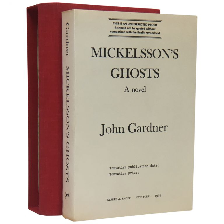 Mickelsson's Ghosts [Uncorrected Proof]. John Gardner.
