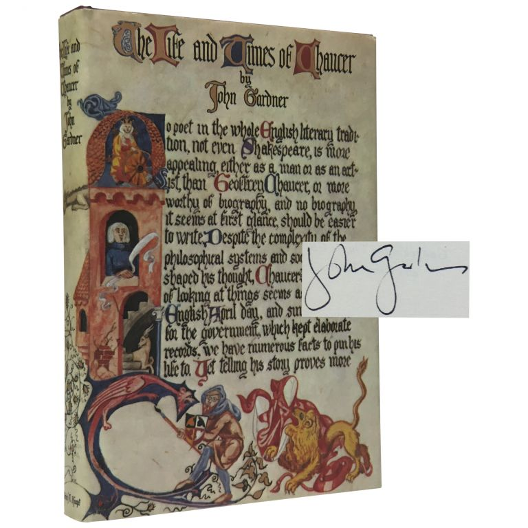 The Life and Times of Chaucer. John Gardner.