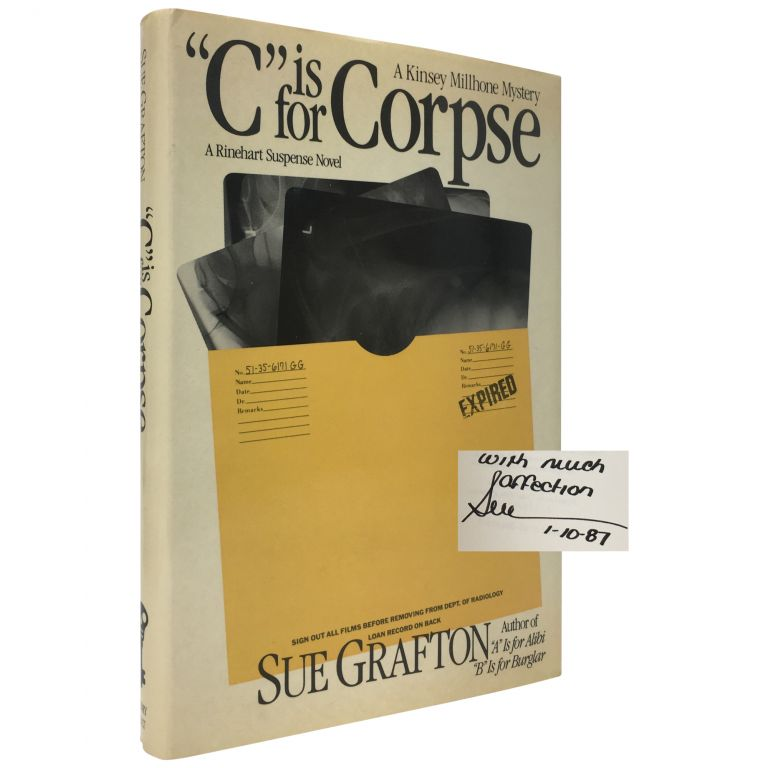 C is for Corpse. Sue Grafton.