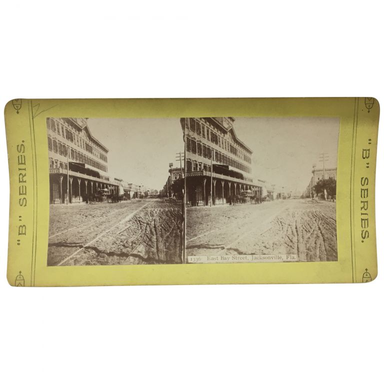 East Bay Street, Jacksonville, Fla. [Stereoview]. Best Manufacturing.