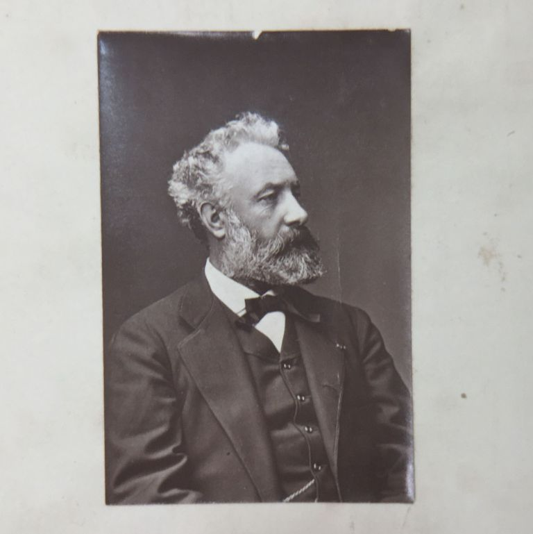 Woodbury Type of Jules Verne in The Union Jack Volume III. Jules Verne, G. A. Henty.