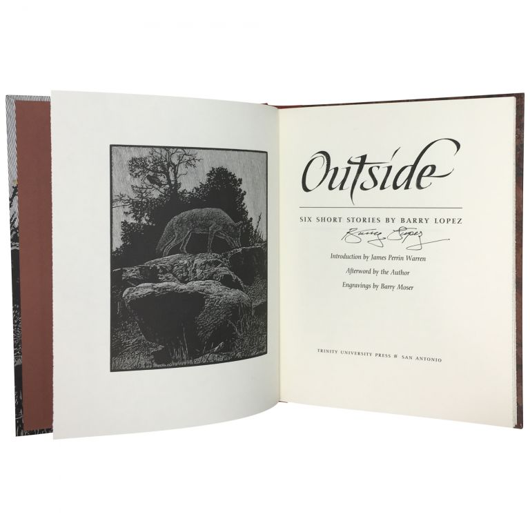 Outside: Six Short Stories. Barry Lopez.