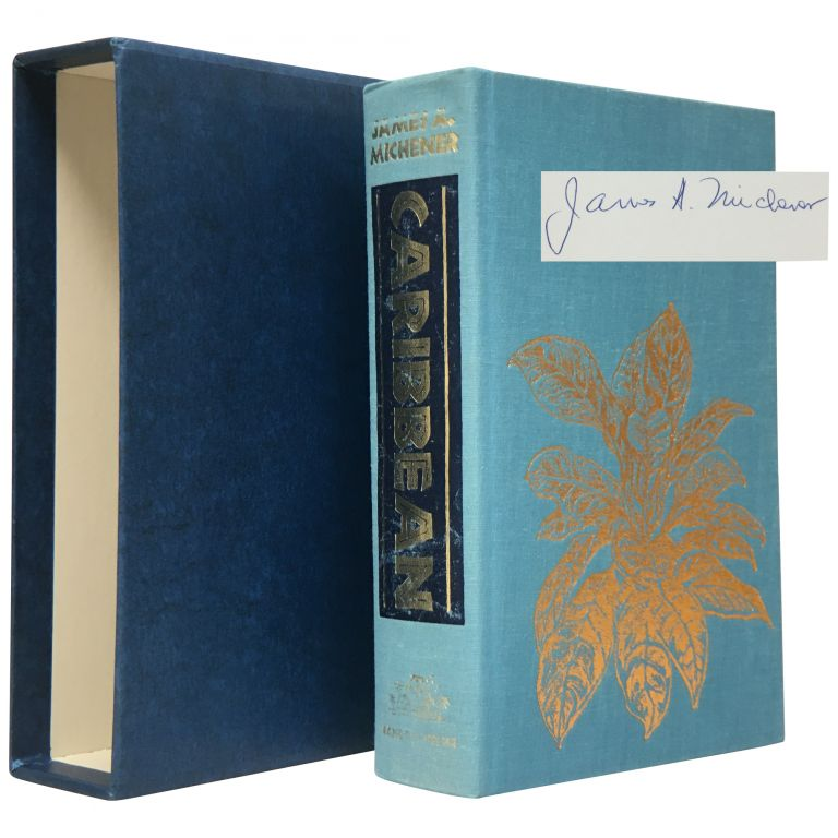 Caribbean [Signed, Limited]. James A. Michener.