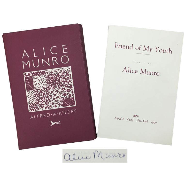 Friend of My Youth [Advance Reading Copy (ARC)]. Alice Munro.