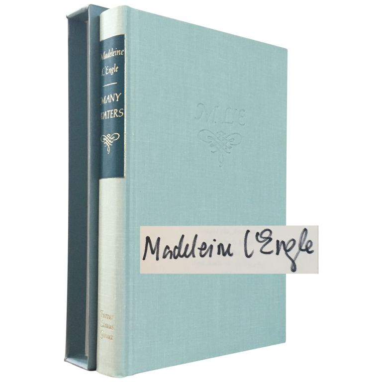 Many Waters [Signed, Limited Author's Copy]. Madeleine L'Engle.