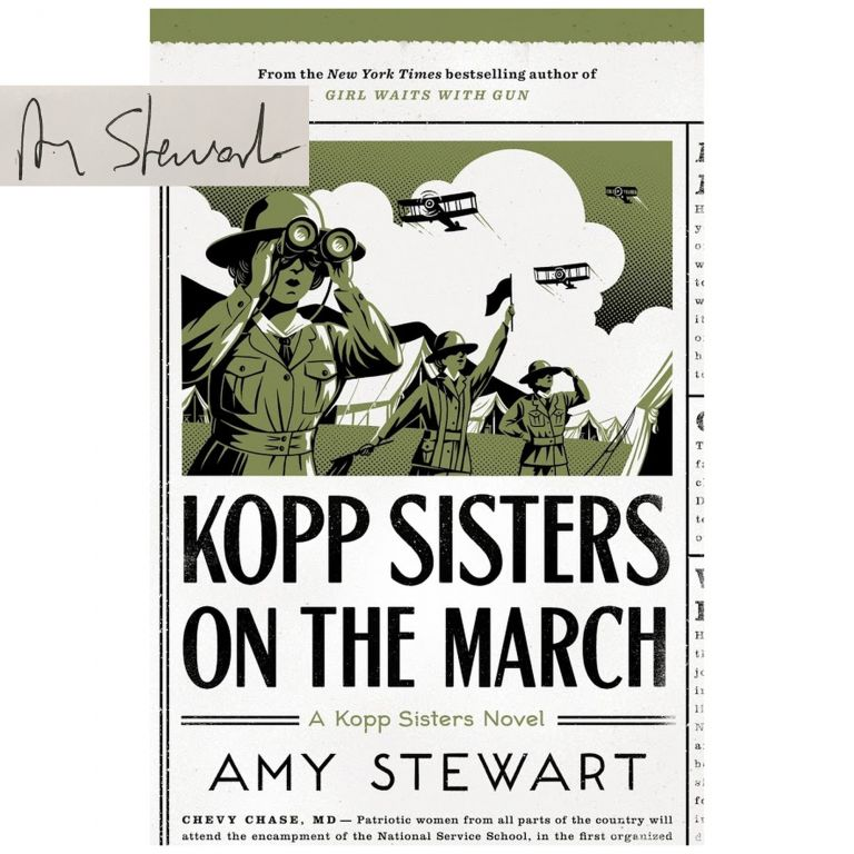 Kopp Sisters #5: Kopp Sisters on the March [Hardcover]. Amy Stewart.