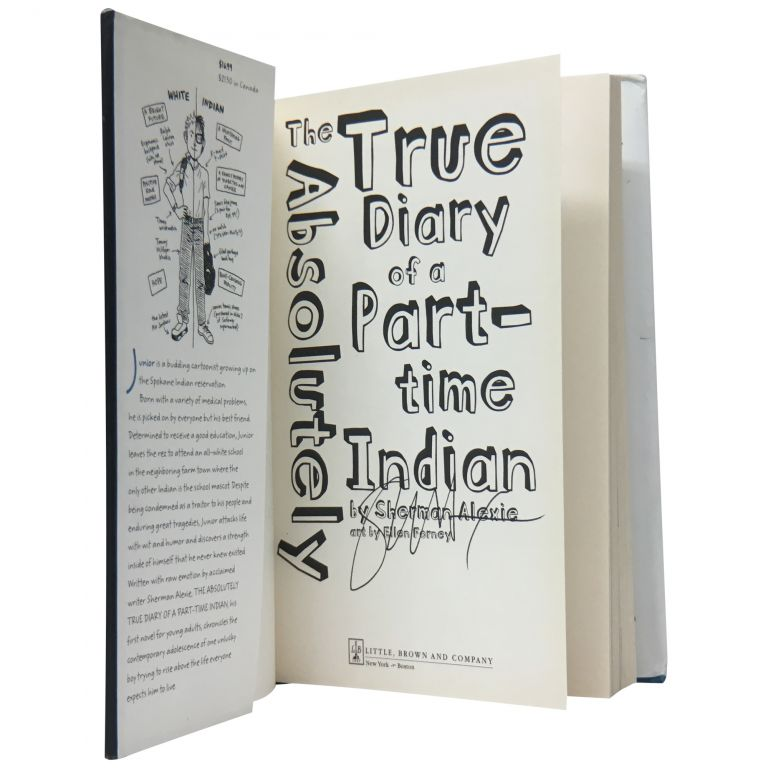 The Absolutely True Story of a Part-Time Indian. Sherman Alexie.