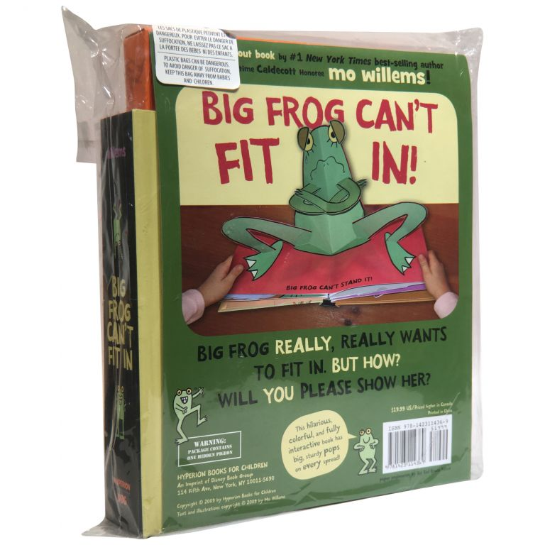 Big Frog Can't Fit In: A Pop-Out Book. Mo Willems.