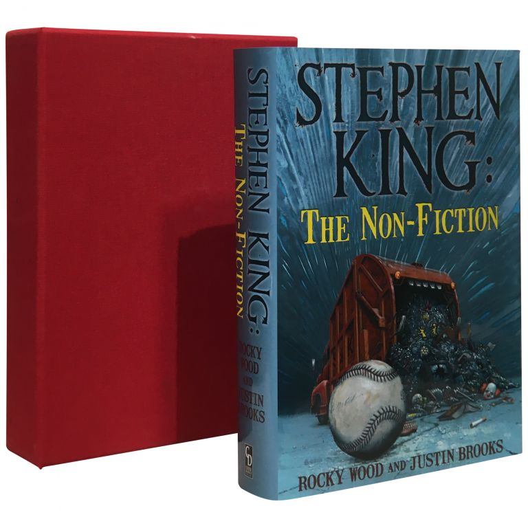 Stephen King: The Non-fiction. Stephen King, Stephen Wood, Justin Brooks.