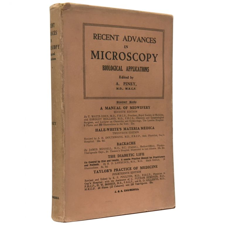 Recent Advances in Microscopy: Biological Applications. A. Piney.