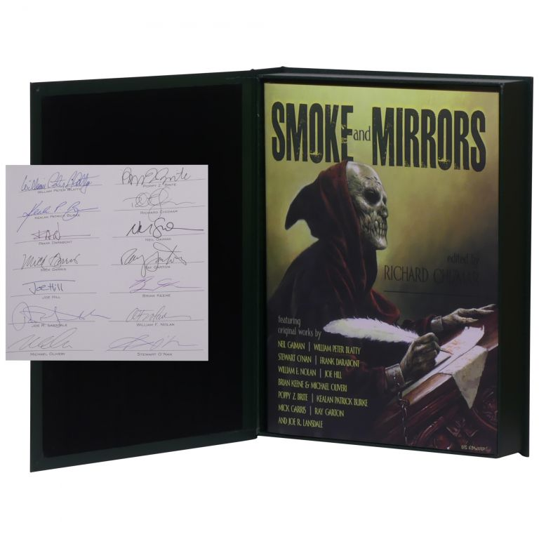 Smoke and Mirrors: Screenplays, Teleplays, Stage Plays, Comic Scripts & Treatments [Signed, Lettered]. Richard Chizmar.