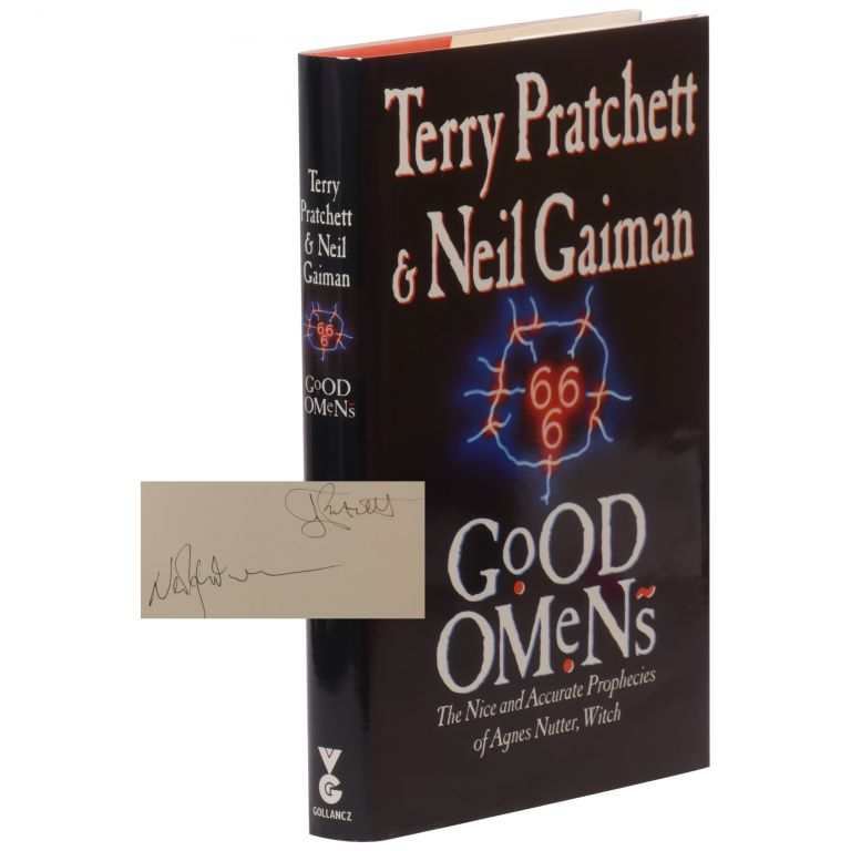 Good Omens: The Nice And Accurate Prophecies Of Agnes Nutter, Witch. Neil Gaiman, Terry Pratchett.