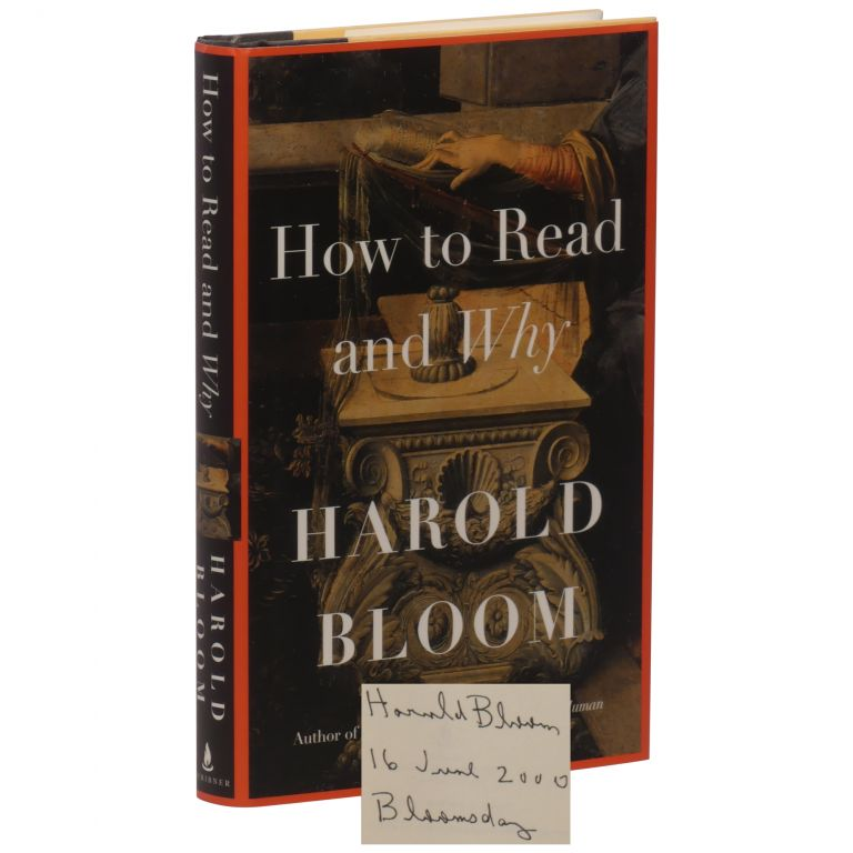 How to Read and Why. Harold Bloom.