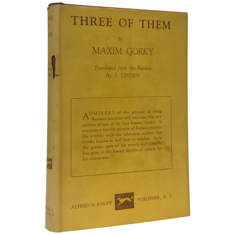 Three of Them. Maxim Gorky, Alexei Peshkov.