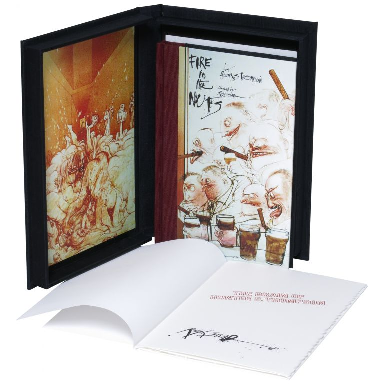 Fire in the Nuts [Lettered Issue]. Hunter S. Thompson, Ralph Steadman.