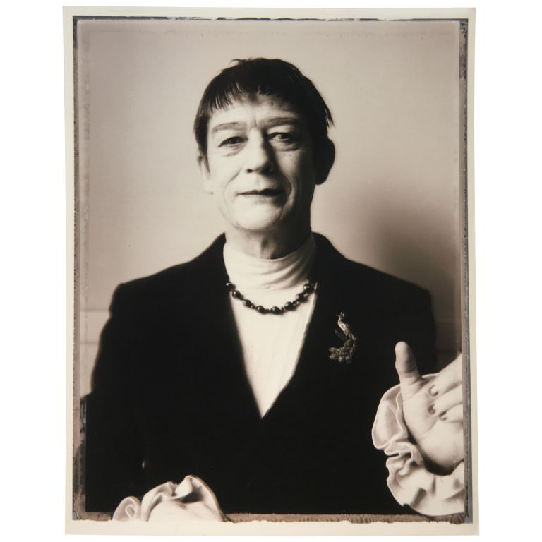 """[John Hurt as """"The Countess"""" in Even Cowgirls Get the Blues]. Gus Van Sant, Tom Robbins."""