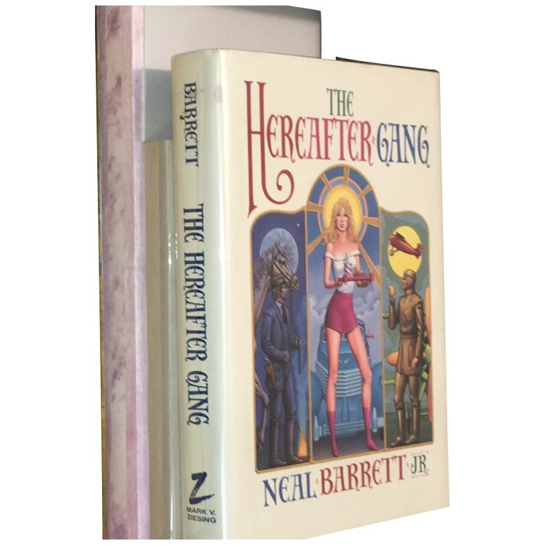Hereafter Gang [Typescript; Rejection Letters; First Edition; and Proof]. Neal Jr Barrett.
