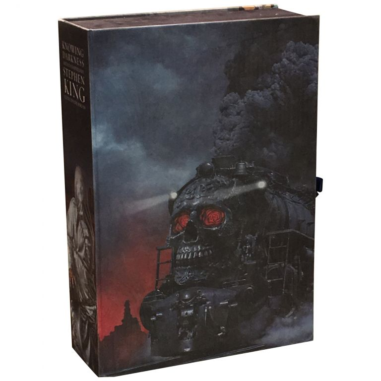 Knowing Darkness: Artists Inspired by Stephen King [Traycased Edition]. Stephen King, George Beahm.