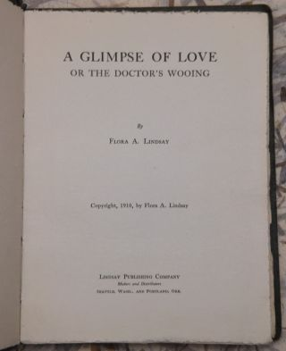 A Glimpse of Love or, The Doctor's Wooing