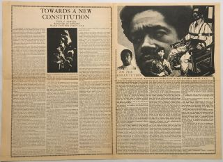 On the Constitution / Message to America / Towards a New Constitution. Eldridge / The Black...