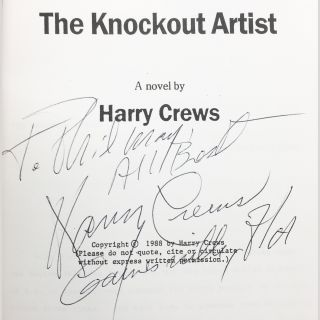 The Knockout Artist [Uncorrected Proof]