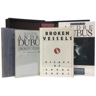 Broken Vessels: Essays [Lot of 4 Editions]. Andre Dubus