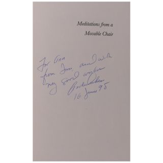 Meditations from a Movable Chair: Essays