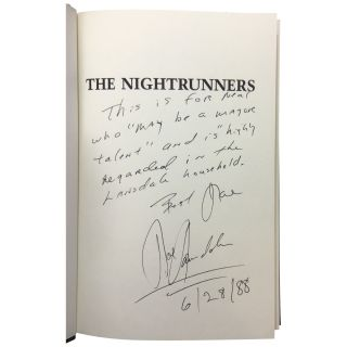 The Nightrunners [Association Copy]