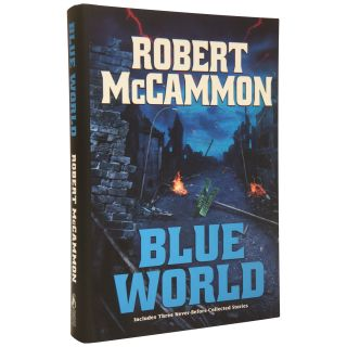 Blue World [Signed, Numbered]. Robert R. McCammon