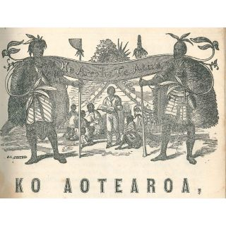 Ko Aotearoa, or the Maori Recorder (no. 1) together with The Recorder and Ko Aotearoa (no. 2) [Complete Run]