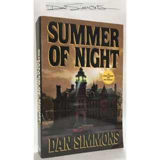 Summer of Night [Proof, Signed]. Dan Simmons