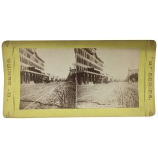 East Bay Street, Jacksonville, Fla. [Stereoview]. Best Manufacturing