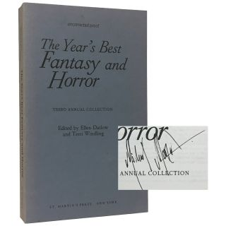 The Year's Best Fantasy and Horror: Third Annual Collection [Proof]. Ellen Datlow, Terri Windling