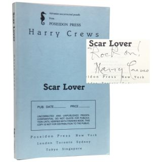 Scar Lover [Proof]. Harry Crews