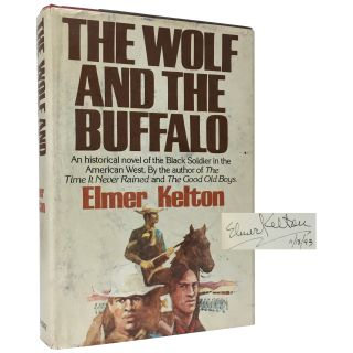 The Wolf and the Buffalo. Elmer Kelton