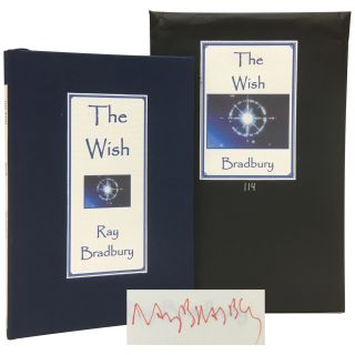 The Wish [Signed, Numbered]. Ray Bradbury