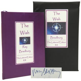 The Wish [Signed, Lettered]. Ray Bradbury