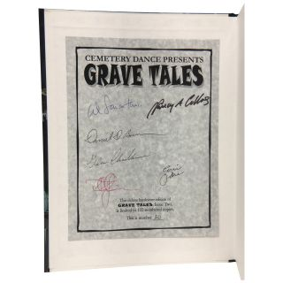 Cemetery Dance Presents Grave Tales, no. 2 [Signed, Limited]