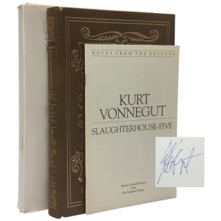Slaughterhouse-five: Or the Children's Crusade, A Duty-Dance with Death [Signed Franklin...
