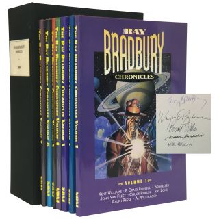 Ray Bradbury Chronicles [7 volumes; signed, limited]. Ray Bradbury, Howard Zimmerman