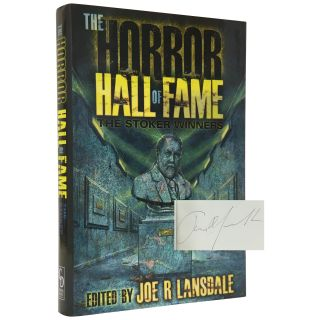 The Stoker Winners: The Horror Hall of Fame [Signed, Limited]. Joe R. Lansdale