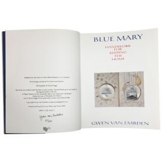 Blue Mary: Handwork for Keeping the Home
