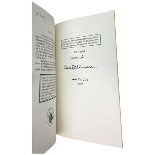 Blessed Bastard: A Novel of Sir Galahad [Signed, Limited]