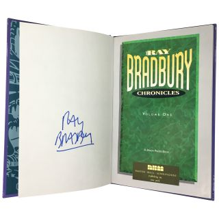 Ray Bradbury Chronicles [7 volumes, Signed trade editions]