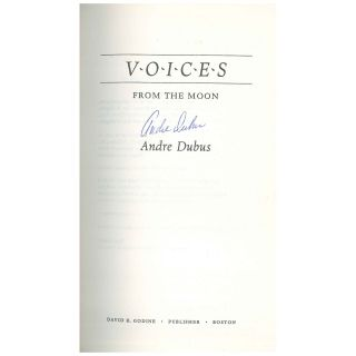 Voices From the Moon [Uncorrected Proof]