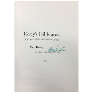 Kesey's Jail Journal [First, Proof, Blad]