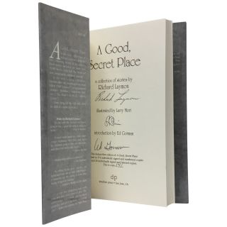 A Good, Secret Place: A Collection of Stories [Signed, limited]